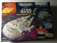 Star Wars Millennium Falcon Micro Machines Playset by Galoob 1995 VINTAGE!