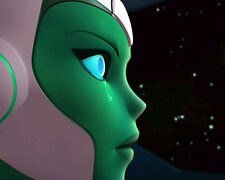"""""""Aya's Tear"""" =Green Lantern= 8x10 Personalized by Voice Grey DeLisle - Charity!"""