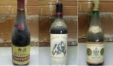 3 Bottiglie vino d'annata leggere descrizione
