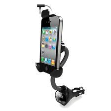 19 KFZ Halterung FM Transmitter Smartphone Samsung Iphone HTC über 3.5mm Audio