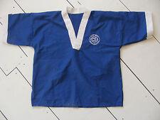 Blue ECKA Karate Suit (Size1) and ECKA V-Neck Top (possible size 3)