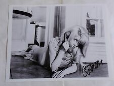 "CATHERINE DENEUVE  10x8"" PHOTO SIGNED  REPULSION, BELLE DE JOUR, INDOCHINE"