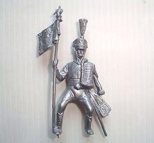 Figurine mokarex série cavalerie 1er empire : Hussard Porte étendard 1805