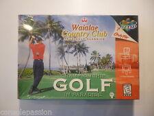 Nintendo 64 N64-Waialae Country Club-Factory Sealed-US NTSC