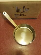 Bon Chef Small Stainless Steel Single Serving Side Pan #60033 New
