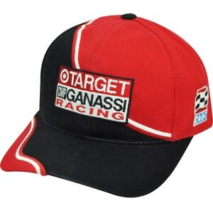 CART  Target Chip Ganassi Racing Black Red  Hat Cap Adjustable  Am. Needle