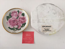 1987 Pink BONICA America Rose Society All-American Rose Society Collector Plate