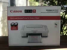 Canon PIXMA MG2522 Wired All-in-One Color Inkjet Printer with INK & USB Cable