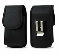 AGOZ Heavy Duty Rugged Belt Clip Loop Pouch Case Holster for Alcatel Cell Phones