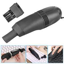 Mini Computer Vacuum USB Keyboard Cleaner PC Laptop Brush Dust Cleaning Kit