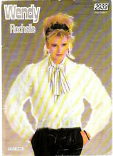 Retro Knitting Pattern, Wendy, Ladys Cardigan in Rochelle, 30-42in, 2939