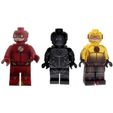 Flash Reverse Flash and Zoom Lego Minifigure Special Price Combo With Free Cards