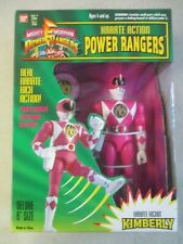VTG MIGHTY MORPHIN POWER RANGERS KARATE ACTION KIMBERLY PINK RANGER MIB SEAL