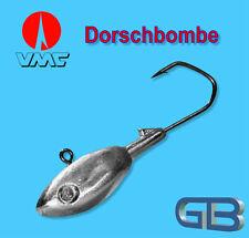 Meeresjig Dorschbombe 60g Jig 6/0 Bleikopf VMC Barbarian 5150 BN