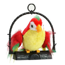 Talking Parrot Imitates And Repeats What You Say Kids Gift Funny Toy T8W6
