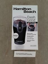 New Hamilton Beach 80335R Fresh-Grind Coffee Grinder in USA not China Fast S/H