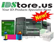 FARGO DTC1500 Single Side Photo ID Card Printer Bundle Replaces Fargo DTC4250e