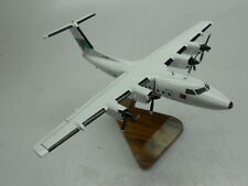 DHC-7 De Havilland Air Niugini Airlines Airplane Dried Wood Model Small New