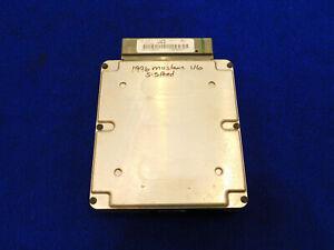 96 Ford Mustang V6 Manual Transmission ECU Computer LWC2 Used Take Off C82