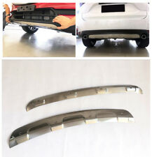 Fit for Mazda CX-5 2017-2020 Stainless Steel Front & Rear Bumper Protector Plate