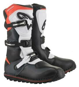 Alpinestars TECH T Trials Bike Boots. Black/Grey/Red. ALL SIZES. SPECIAL OFFER
