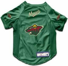 New! Minnesota Wild Dog Cat Deluxe Stretch Jersey Licensed Choose Size