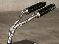 M4 Exhaust Yamaha R1 04-06 Undertail slip on system with CARBON mufflers