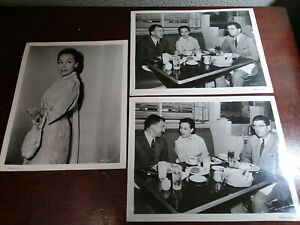 3 Vintage 8 x 10  Photos of Dolores Del Rio from her Movie career DS.9080