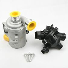 Water Pump W/Thermostat &Bolt 11517586925 For BMW 128i 325i 328i 528i 530i X3 X5