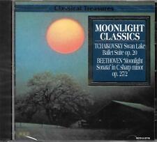 Moonlight Classics - Printed in Canada - CD - Tchaikovsky Beethoven Chopin NEU