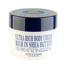 L'Occitane Shea Butter Ultra Rich Body Cream 200ml Moisturizers Natural