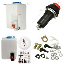 Durable 1.8L Auto Car Windshield Washer Reservoir Pump Bottle Kit Hose Jets Set