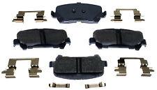 Disc Brake Pad Set-Ceramic Disc Brake Pad Rear ACDelco Advantage 14D1806CH
