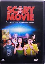 Dvd Scary Movie con Ologramma tondo dei fratelli Wayans 2001 Usato