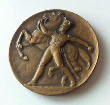 Bronze Medaille SCHWEIZERISCHE OFFIZIERSGESELLSCHAFT 1833 1933 v. HUGUENIN