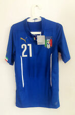 Sale! Pirlo, Italy Wc 2014 Player Issue Authentic Shirt Jersey Rare Italia