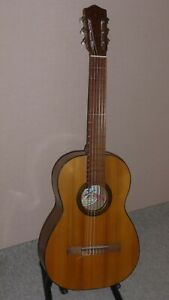 Vintage Spanish Flamenco Classical Guitar from 1960 s .