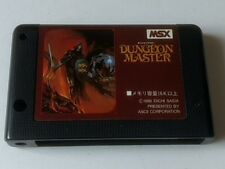 Dungeon Master MSX2 RPG game Cartridge only tested-D-