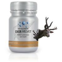 Deep Blue Health New Zealand Deer Antler Velvet Powder - 500mg x 30 Capsules