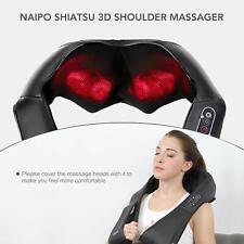 Naipo Shiatsu Back and Neck Massager with Heat Deep Kneading Massage