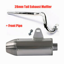 28mm Exhaust Muffler Front Pipe Kit For CRF50 XR50 Apollo Dirt Pit Bike SSR SDG