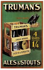 Truman reproduction Advertising Poster A4 print stout & ales