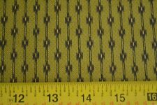 By 1/2 Yd, Gold Black Green Quilting, Andover/Crimson Bouquet/Morton/5319 V B152