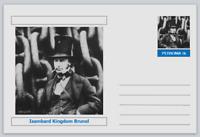 Personalities - postcard - Isambard Kingdom Brunel bridges civil engineering #2