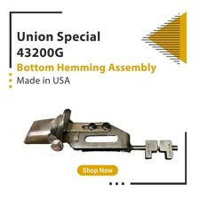Union Special 43200 G Bottom Hemming Assembly