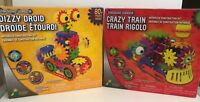 Techno Gears Crazy Train and Dizzy Droid Construction Set 2 Pack Christmas Gift