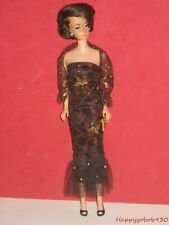 Vintage Barbie Sized Femme Fatale Outfit Complete with Shawl Purse & Shoes