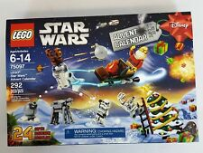 LEGO STAR WARS 2015 Christmas ADVENT CALENDAR #75097 Building Kit NEW in BOX NIB