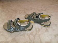 Chaussures d'été garçon , Vert , Marque SPORT'S, Pointure 32 , Excellent état