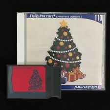 Christmas Embroidery Designs Card #110 for Janome Elna & Kenmore -Envision card